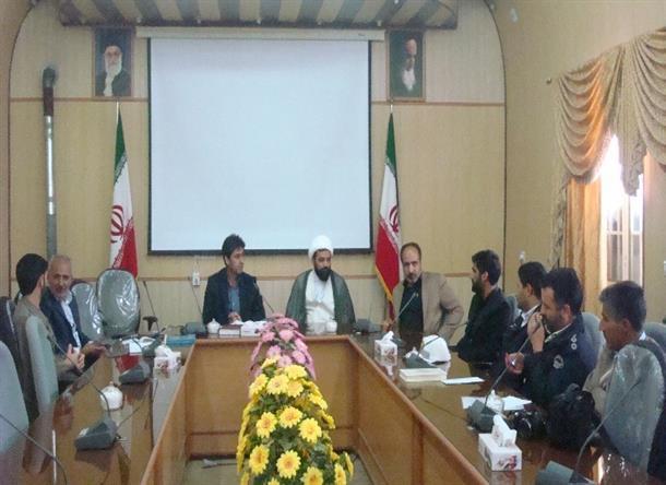 جلسه برنامه ريزي راهپيمايي يوم ا... 13 آبان ماه در  بخشداري ديهوك برگزار شد .