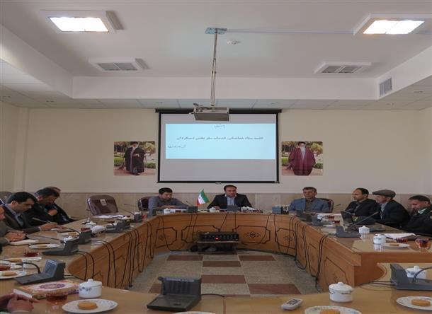دومین جلسه ستاد هماهنگی خدمات سفر (ویژه سفرهای نوروزی) بخش دستگردان برگزار شد.