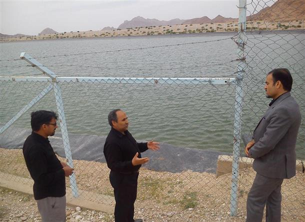بازديد بخشدار دستگردان از محل وقوع حادثه تلخ غرق شدن دانش آموز فقيد محمد هادي يوسفزاده