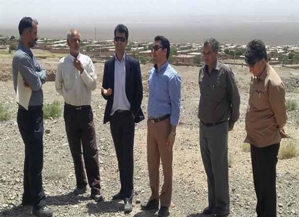 بازدید بخشدار دیهوک از روستاهای دهستان کویر