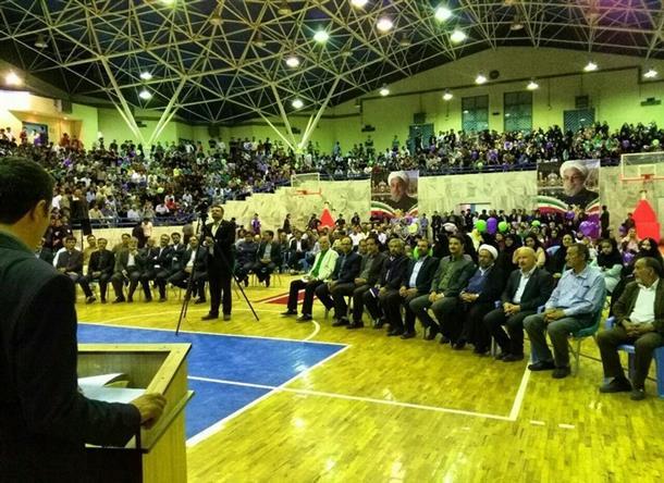 جشن بزرگ حاميان دكتر روحاني
