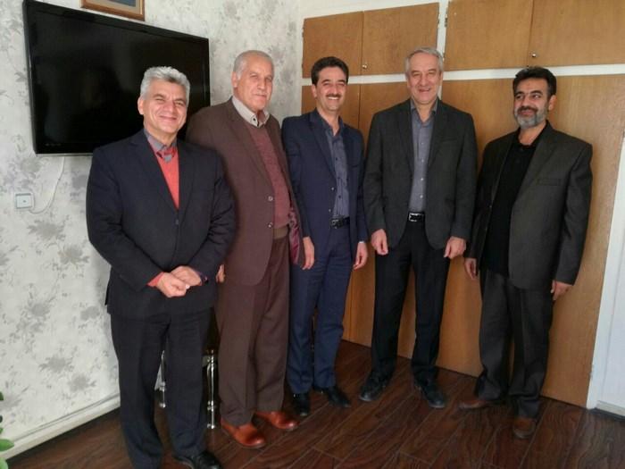 با علی کفاشیان نائب رئیس فدراسیون فوتبال جمهوری اسلامی ایران